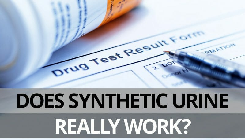 does synthetic urine work