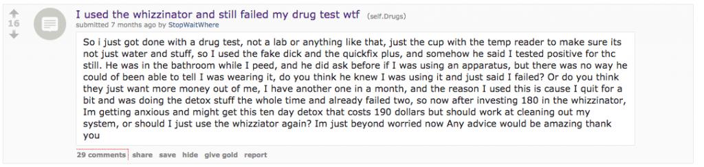 Reddit testimonial