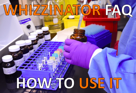 Whizzinator FAQ - How To Use it