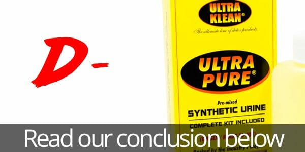 Ultra Pure (Klean) Synthetic Urine Review