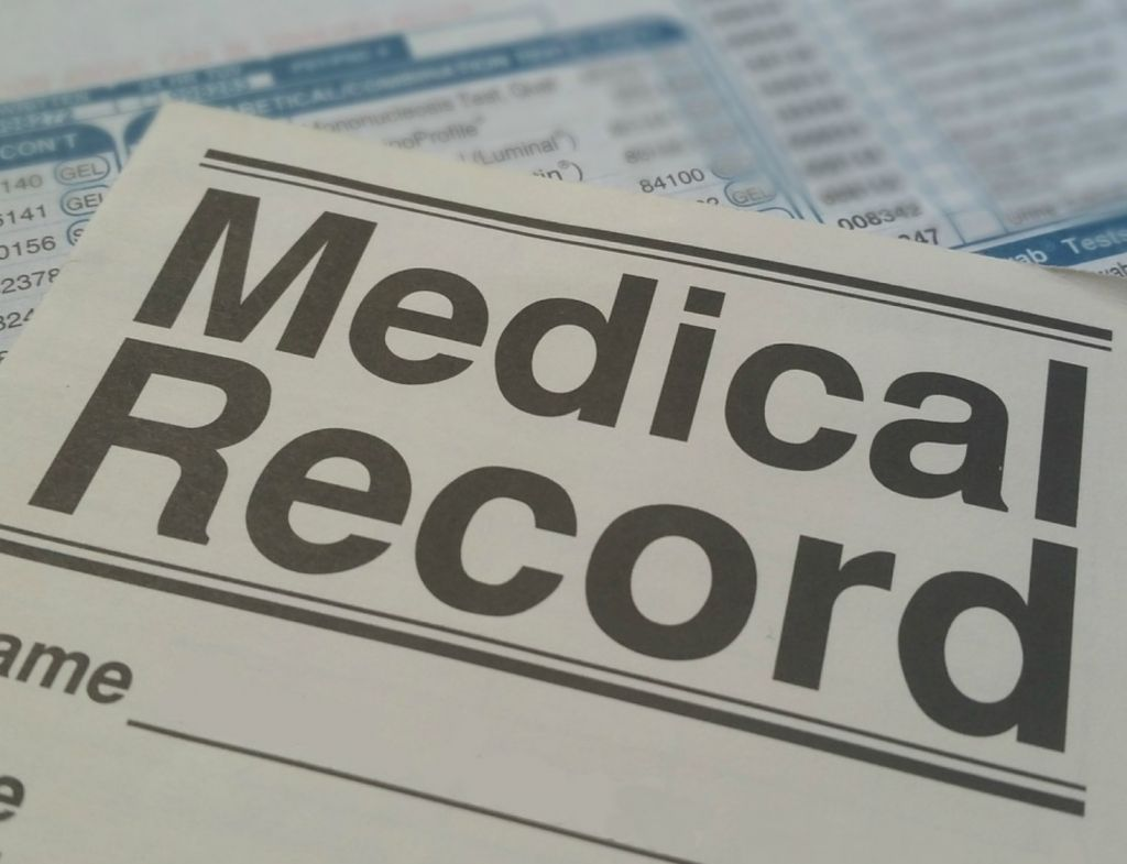 medical results hospital record