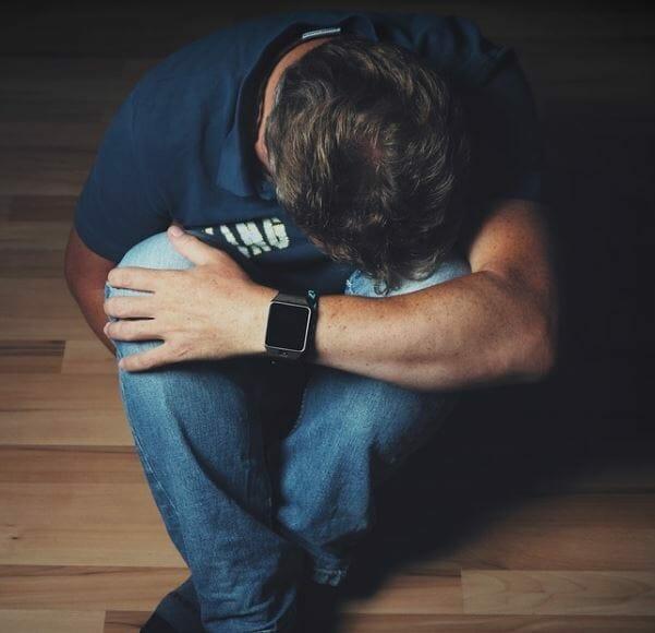devastated guy