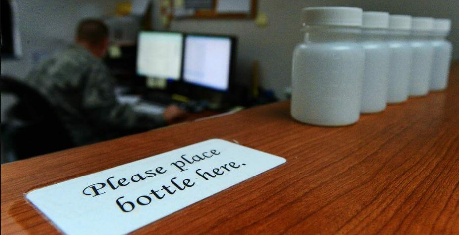 urine sample bottles