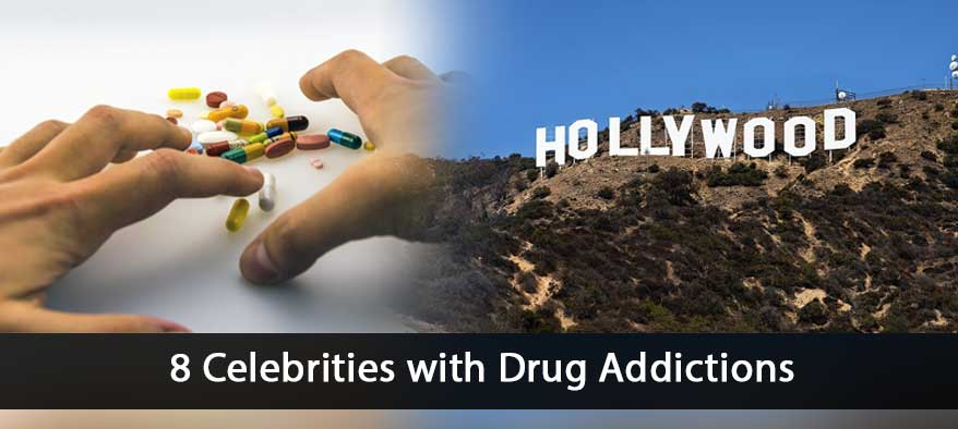 celebrities with drug addictions