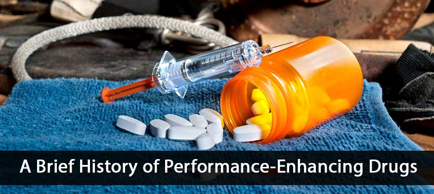 history of performance enhancing drug