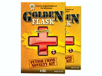 Two Golden Flask products