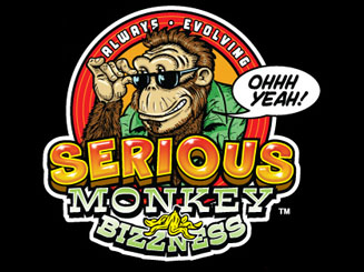 serious monkey bizzness logo