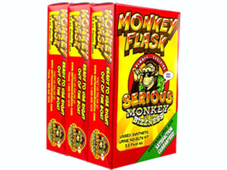 three monkey flask by serious monkey bizzness product