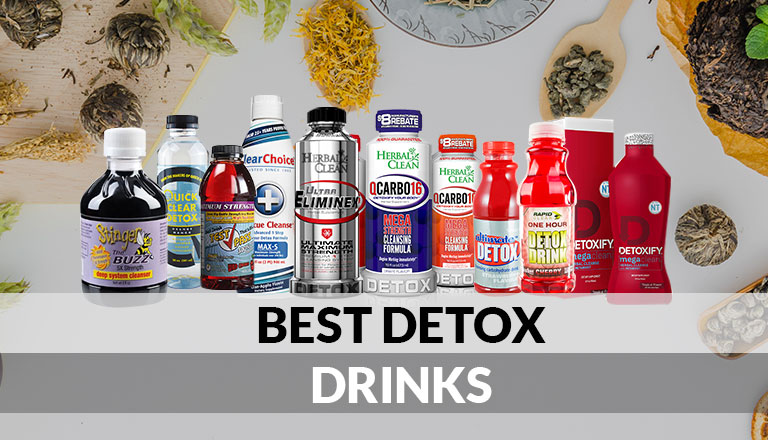 Best Detox Drinks featured image