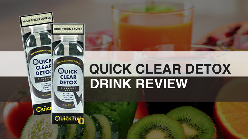 Quick Clear Detox Drinks featured image