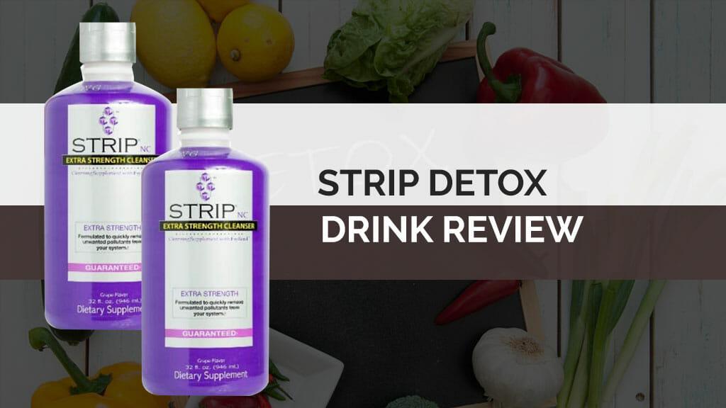 Strip Detox Drink Header