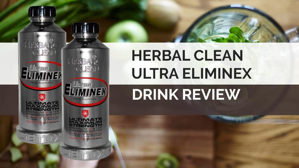 herbal clean ultra eliminex header